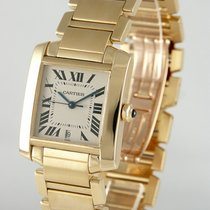Cartier Tank Française pre-owned 28mm Yellow gold