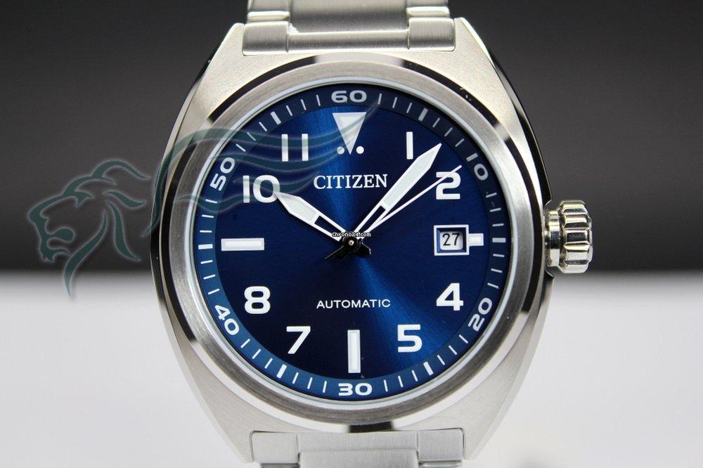 Citizen NJ0100-89L Urban Automatico Uomo Acciaio Data for Rs. 12 2f07d3b1e2