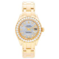 Rolex Lady-Datejust Pearlmaster 29mm Mother of pearl No numerals