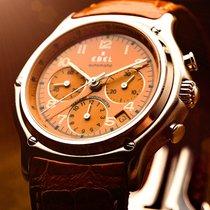 Ebel Chronograph 40mm Automatic pre-owned Le Modulor Orange