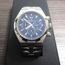 Vacheron Constantin Overseas Chronograph pre-owned Blue Steel