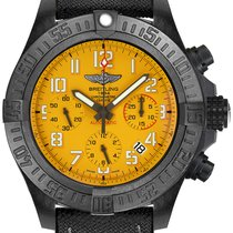 Breitling Avenger Hurricane Ceramic 45mm Yellow Arabic numerals United States of America, New York, New York