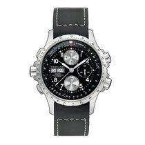 Hamilton Chronograph 44mm Automatic new Khaki X-Wind Black