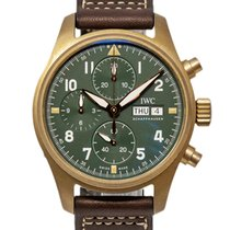 IWC Bronze Automatic Green 41mm new Pilot Mark