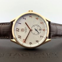 TAG Heuer Or rose Remontage automatique Arabes 39mm nouveau Carrera Calibre 6