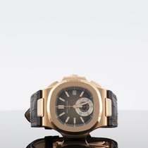 Patek Philippe 5980R-001 Aur roz 2019 Nautilus 40.5mm nou