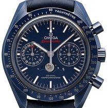 Omega Speedmaster Professional Moonwatch Moonphase Ceramika 44.2mm Niebieski