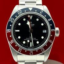 Tudor Black Bay GMT pre-owned 41mm Black Steel