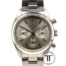 Rolex Chronograph Steel 36mm Grey No numerals