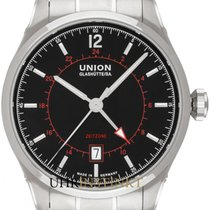 Union Glashütte Belisar GMT new 2020 Automatic Watch with original box and original papers D009.429.11.057.02