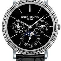 Patek Philippe Perpetual Calendar White gold 38mm Black No numerals United Kingdom, London