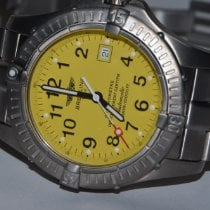 Breitling Avenger Seawolf Titanium 44mm Yellow Arabic numerals United States of America, New York, Greenvale
