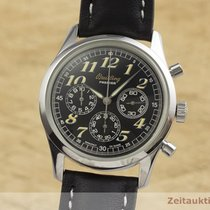 Breitling Navitimer Steel 36.5mm Black