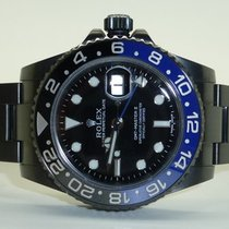 Rolex 116710 GMT Master II, Steel, ceramic bezel DLC Coating
