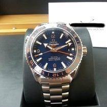 歐米茄 (Omega) 23230442203001 Planet Ocean GMT Blue 43.5mm [NEW]