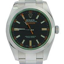 Rolex 116400V bko Staal 2009 Milgauss 40mm tweedehands