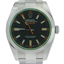 Rolex Milgauss Green LIKE NEW REF: 116400V bko