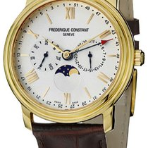 Frederique Constant Classics Business Timer Gold/Steel Silver United States of America, New York, Brooklyn