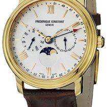 Frederique Constant Classics Business Timer nieuw Goud/Staal