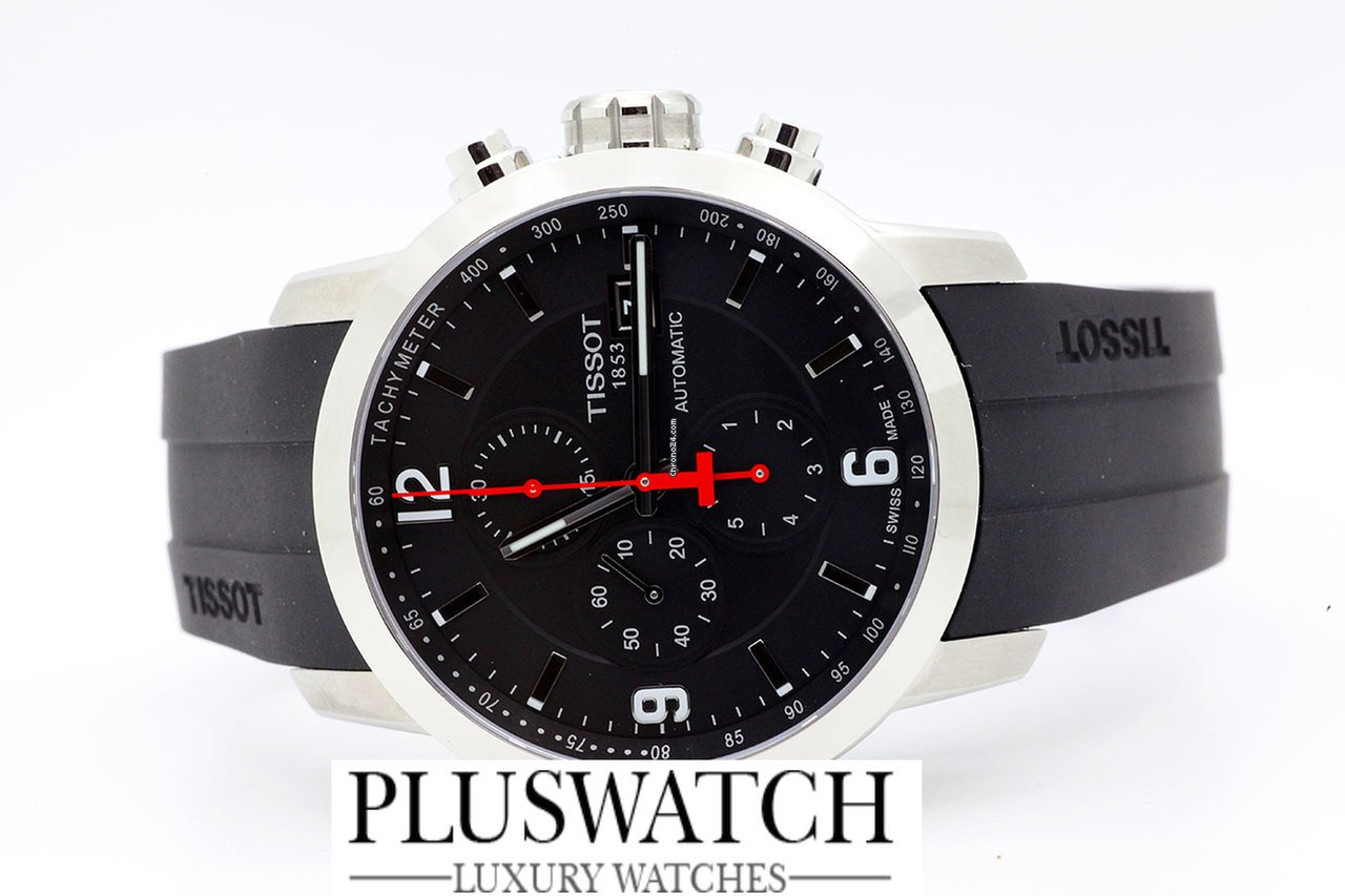 Tissot Prc 200 Automatic Chronograph Gent Black Dial R for  891 for sale  from a Trusted Seller on Chrono24 2045db6d657
