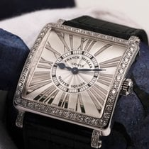 Franck Muller Original 6002 M Quartz Master With Diamond Bezel