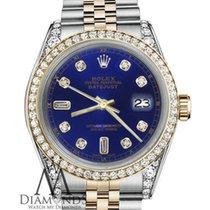 Rolex Lady-Datejust Gold/Steel 31mm Blue No numerals