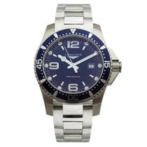 Longines HydroConquest Quartz 44mm Mens Watch