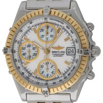 Breitling : Chronomat :  D13350 :  18k gold / Stainless steel