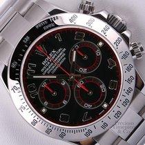 Rolex Daytona Cosmograph 116520 Stainless Steel 40mm Watch-Bla...