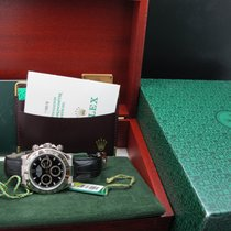 Rolex DAYTONA 116519 18k White Gold with Black Dial Full Set...