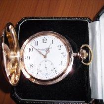 IWC Taschenuhr in 18 kt.  Rosegold, 126 g schwer