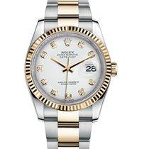 Rolex Datejust (Submodel) новые 36mm Золото/Cталь