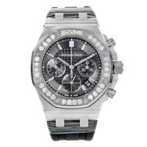 Audemars Piguet Royal Oak Offshore Lady Steel 37mm Black No numerals