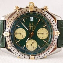 Breitling Chronomat - Green dial - Just serviced - Mint condition