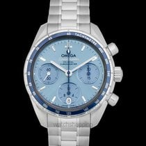 Omega Speedmaster Ladies Chronograph Steel 38mm Blue United States of America, California, San Mateo