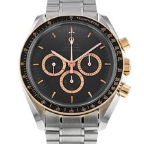 Omega 3366.51.00 Goud/Staal Speedmaster Professional Moonwatch 42mm