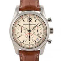Girard Perregaux Flyback Chronograph 40mm In Acciaio Ref. 4958