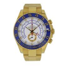 Rolex Yacht-Master II 44mm 18K Yellow Gold Ceramic Watch 116688