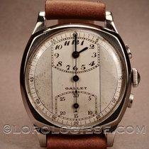 Gallet Chronograph 33.6mm Handaufzug 1930 gebraucht