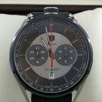 TAG Heuer Kronograf 45mm Otomatik 2014 ikinci el Carrera Calibre 1887 Gümüş