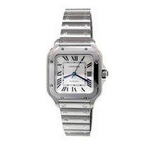Cartier Santos Galbée new Automatic Watch with original box and original papers WSSA0010 CARTIER Santos GALBEE with Extra Leather Strap