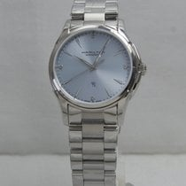 Hamilton Jazzmaster Lady Steel 34mm Blue No numerals