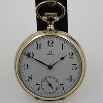 Omega Horloge tweedehands 1919 Geelgoud 46mm Arabisch Handopwind Alleen het horloge