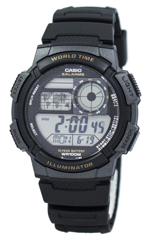 a7993dc8c378 Casio Youth Digital World Time AE-1000W-1AV AE1000W-1AV Men s... en venta  por  34 por parte de un Seller de Chrono24