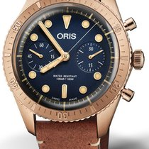 Oris Carl Brashear Bronze 43mm Blue No numerals United States of America, New Jersey, EDISON