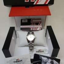 Tissot Glam Sport Staal 32mm Zilver