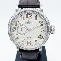 Zenith Pilot Type 20 Lady occasion 40mm Cuir de crocodile