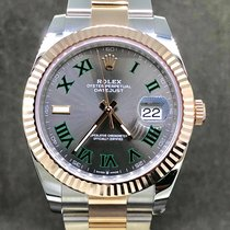 Rolex Datejust II Acier 41mm Gris Romain