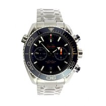 Omega Seamaster Planet Ocean Chronograph Steel 46mm Blue