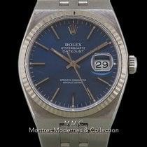 Rolex Datejust Oysterquartz Сталь 35mm Синий Без цифр